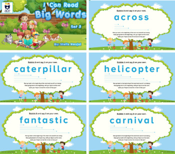 Decoding: I Can Read Big Words-Set 3