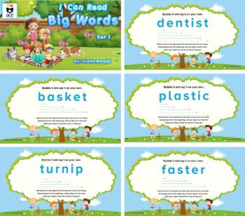 Decoding: I can Read Big Words-Set 1