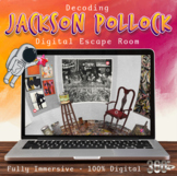 Decoding Jackson Pollock - Digital Escape Room - Visual Ar
