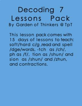 Decoding Lesson Plans