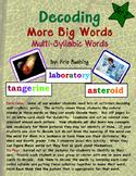 Decoding Multi-Syllabic Words Set 2