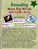 Decoding Multi-Syllabic Words Set 2