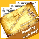 Decoding Multisyllabic Words Passage and Worksheets Using Sojourner Truth Song