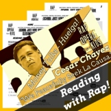Decoding Multisyllabic Words Worksheets and Passage Using Cesar Chavez Song