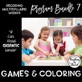 Decoding Multisyllabic Words PROGRAM BUNDLE 7: GAMES & COLORING