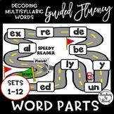 Decoding Multisyllabic Words SPEEDY READER GUIDED FLUENCY PRACTICE SETS 1-12