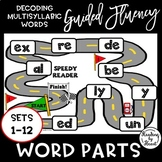 Decoding Multisyllabic Words FLUENCY GUIDED PRACTICE