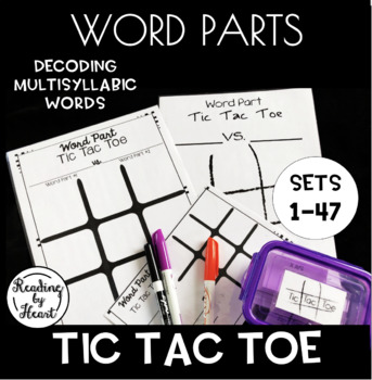 https://www.teacherspayteachers.com/Product/Decoding-Multisyllabic-Words-TIC-TAC-TOE-Word-Parts-Word-Study-Activity-3861076