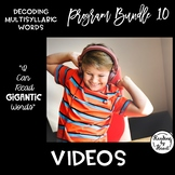 Decoding Multisyllabic Words PROGRAM BUNDLE 10: VIDEOS
