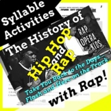 Decoding Multisyllabic Words Worksheets and Passage Using Hip Hop History Song