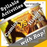 Decoding Multisyllabic Words Worksheets & Multisyllabic Words Passage with Song