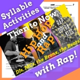 Decoding Multisyllabic Words Passage and Worksheets Using Hip Hop History Song