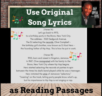 Decoding Multisyllabic Words Activities, Multisyllabic Words Passages w/ Songs 1