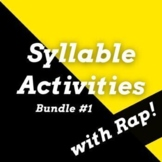 Decoding Multisyllabic Words Worksheets and Passages Using Rap Songs, Bundle #1