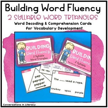 Open and Closed Syllables and More!  Decoding Multisyllabic Words 2 Syllables