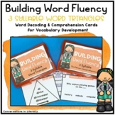 Open and Closed Syllables and More! Decoding Multisyllabic Words 3 Syllables