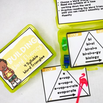 Open and Closed Syllables and More! Decoding Multisyllabic Words 4 Syllables