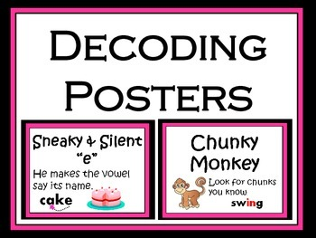 Reading: Decoding Posters