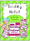 Decoding Phonics Assessment Bundle Set