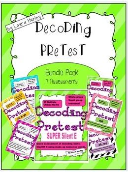 Decoding Phonics Assessment Bundle Set