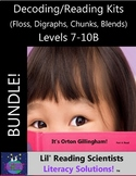 BUNDLE - Decodable Stories, Sentences, Words (Floss Rule/D