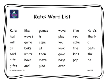 BUNDLE - Decodable Stories, Sentences, Word Cards (Lg.Vowels/Two Syllable Words)