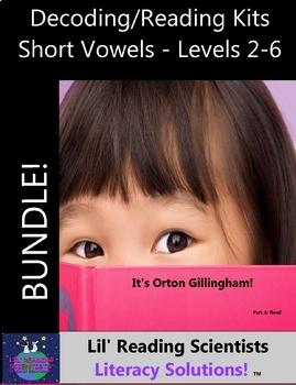 BUNDLE - Decodable Stories, Sentences, and Word Cards (Short Vowels) (OG)
