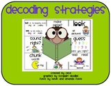 Decoding Reading Strategy Card Set