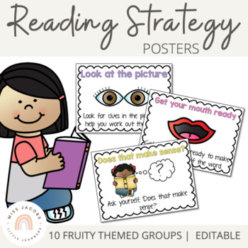 Decoding Reading Strategy Posters