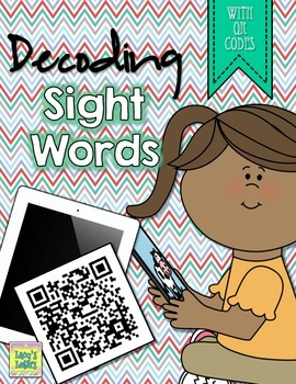 Decoding Sight Words with QR Codes