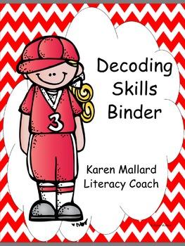 Decoding Skills Binder