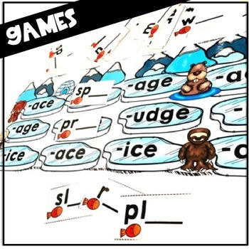 Decoding Soft C & G in the Ice Age!  (-ace, -ice, -age, -dge)