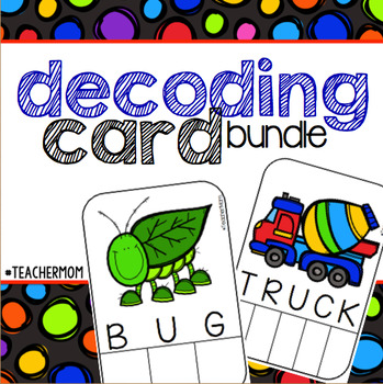 Decoding [Spelling] Card Bundle