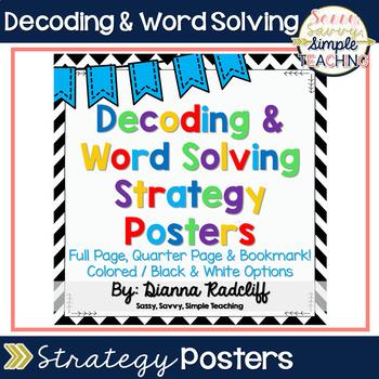 Decoding & Word Solving Strategies