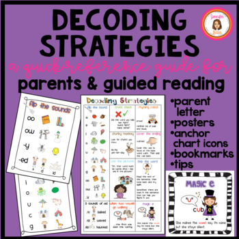Decoding Strategies: A Quick-Reference Guide for Parents & Guided ...