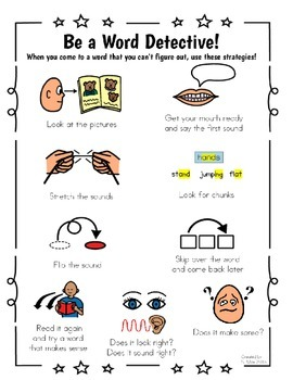 Decoding Strategies!  A Visual Teaching and Learning Tool