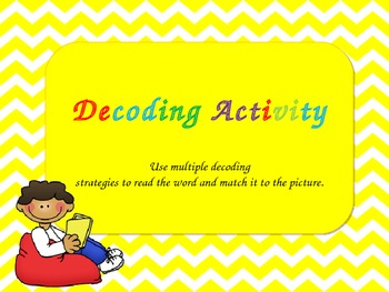 Decoding Strategies Activity for Larger Words