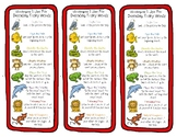 Reading Strategies Bookmarks