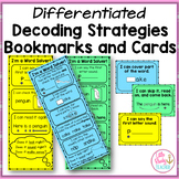Decoding Strategies Bookmarks and Cards (Differentiated)