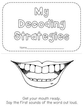 Decoding Strategies Mini Book