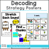 Decoding Strategies Posters-Using Your Students' Reading Powers