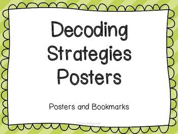 Decoding Strategies Posters