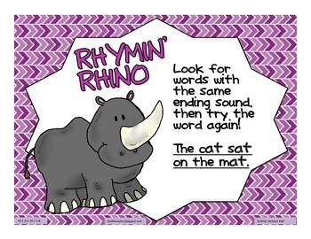 Decoding Strategies: Rhymin' Rhino