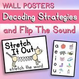 Decoding Strategies and 'Flip The Sound' Wall Posters