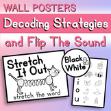 Decoding Strategies and 'Flip The Sound' Wall Posters (Black and White)