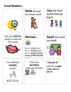 Decoding Strategies for Goo... by Call Me Miss G | Teachers Pay ...