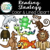 Guided Reading Strategies Clipart by The Candy Class