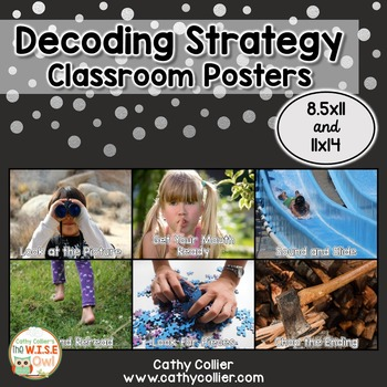 Decoding Strategy Classroom Posters