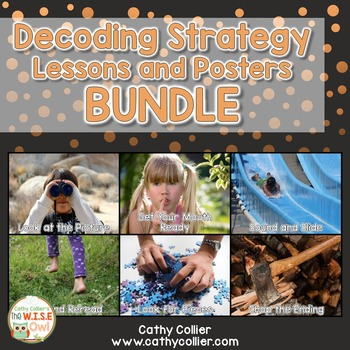 Decoding Strategy Lessons and Posters BUNDLE