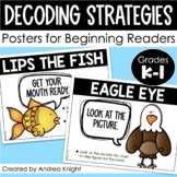 Decoding Strategy Posters & Bookmarks